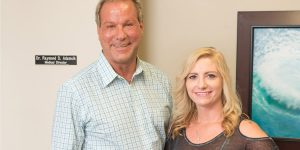 Dr. Ray Adamcik and Audrey Addinton Office Manager